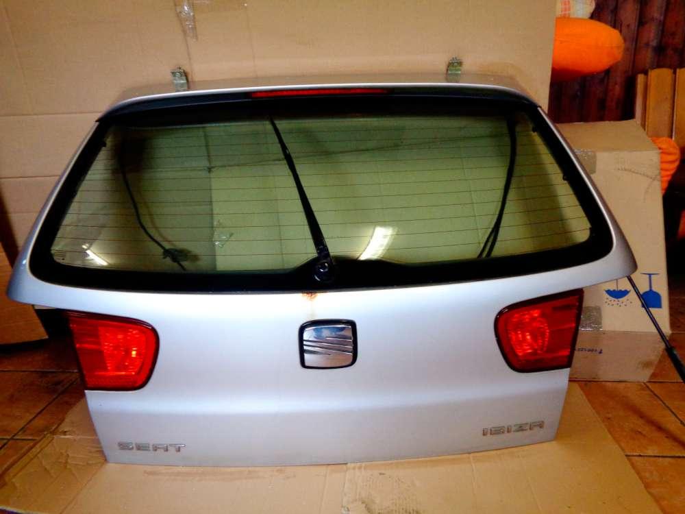 Seat Ibiza 6K Bj:2001 3 Türer Heckklappe Farbe:L57N Silber