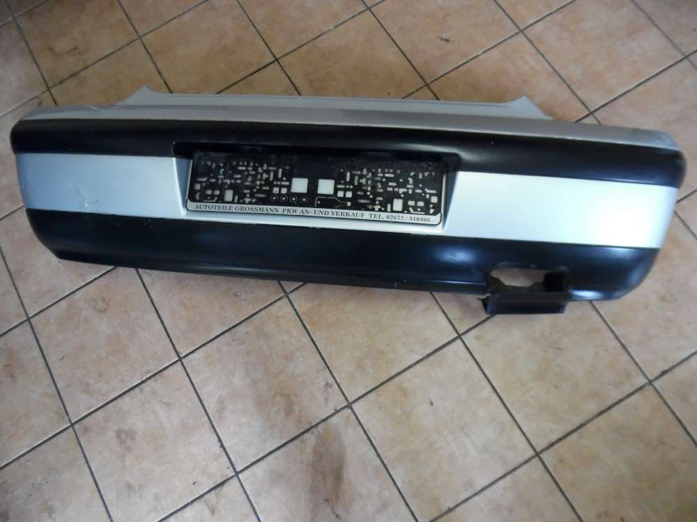 Seat Ibiza 6K Bj:2001 3 Türer Heckschürze Stoßstange Hinten Silber Farbcode:L57N