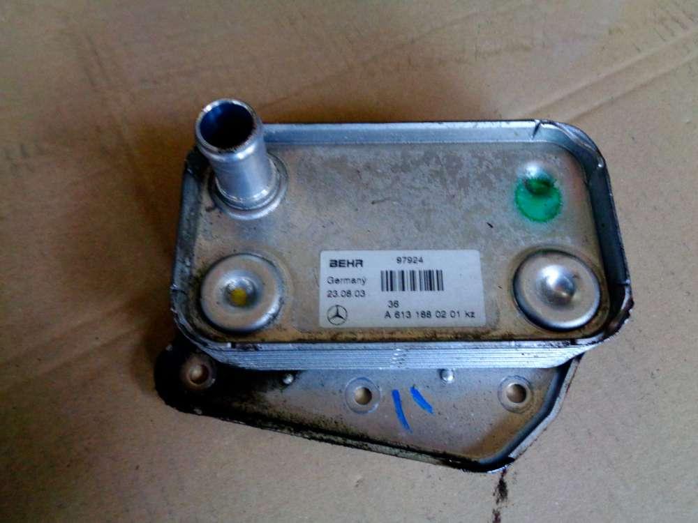Mercedes S-Klasse W220 320 CDI Bj:03 Ölkühler Kühler A6131880201