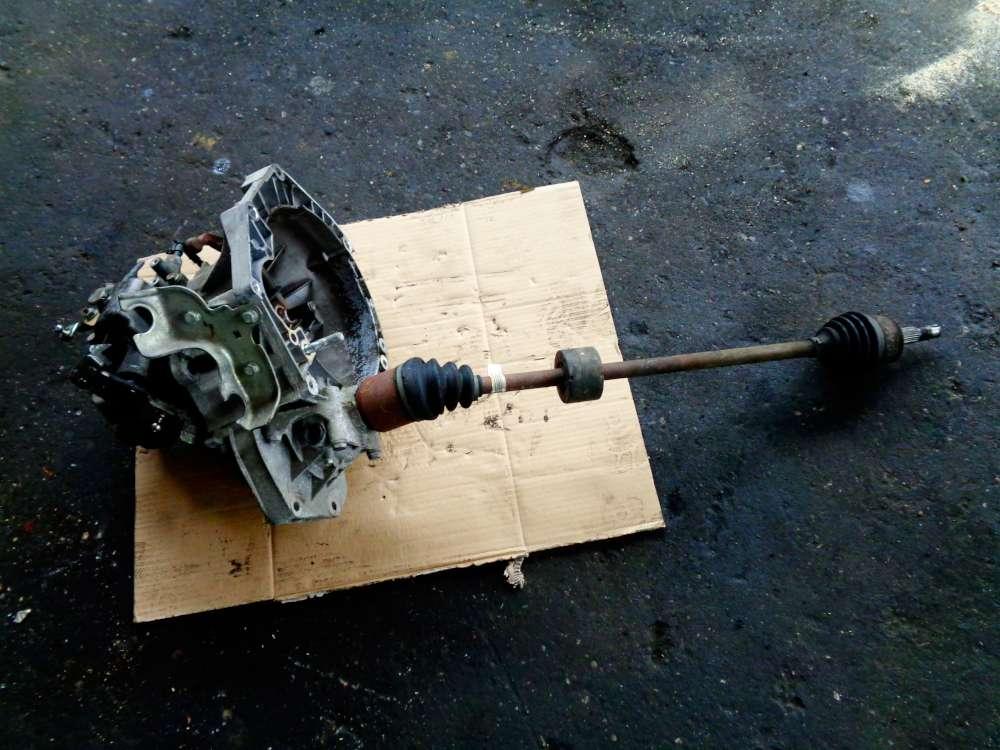 Fiat Punto 199 Bj:2008 1,2L Getriebe Schaltgetriebe 55198599 mit Antriebswelle Rechts 55700559