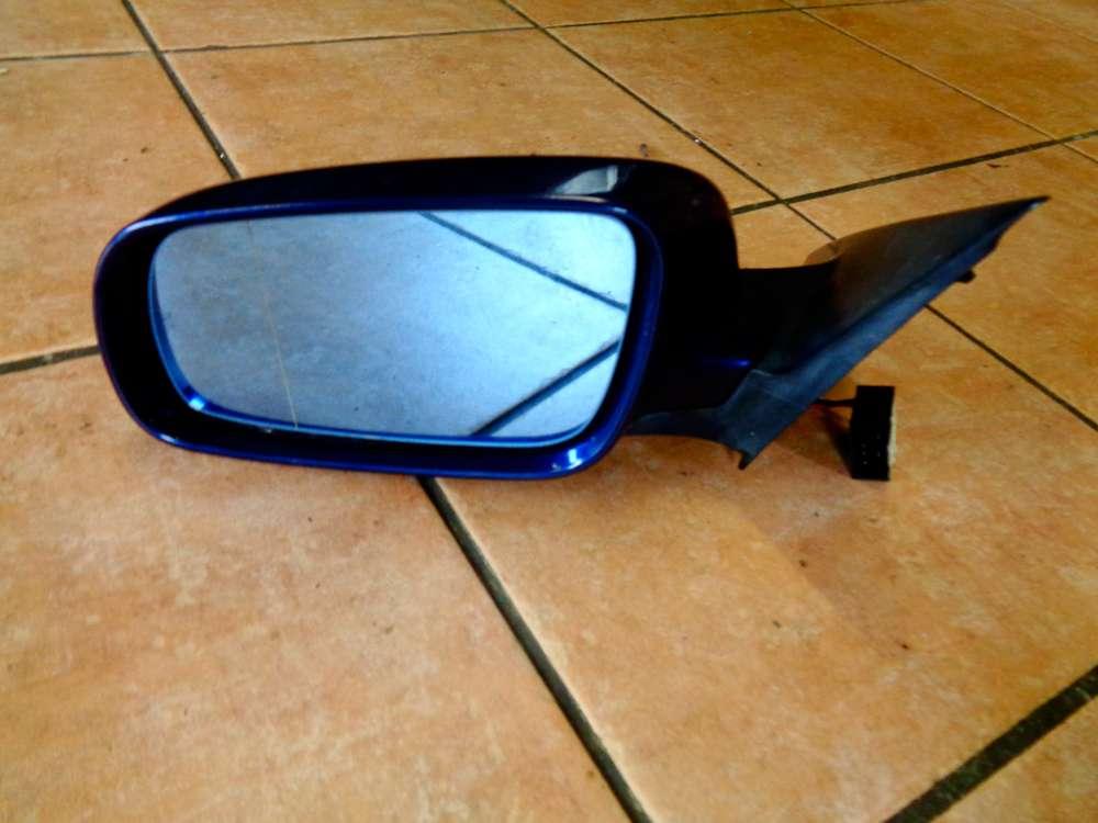 Audi A6 4B Kombi Bj:1998 Außenspiegel elektrischer Links 4B1858531 Blau Farbcode: LZ5K