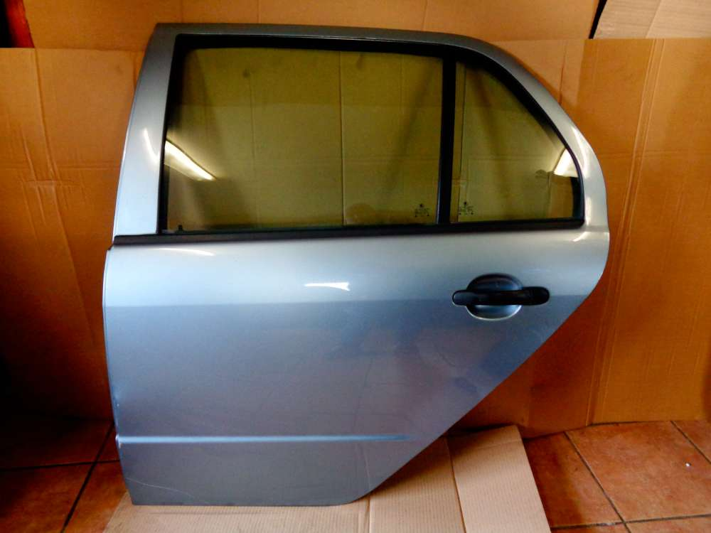 Skoda Fabia 6Y2  Limosine Bj:2002 3-Türer Tür Hinten Links Farbe: 9151