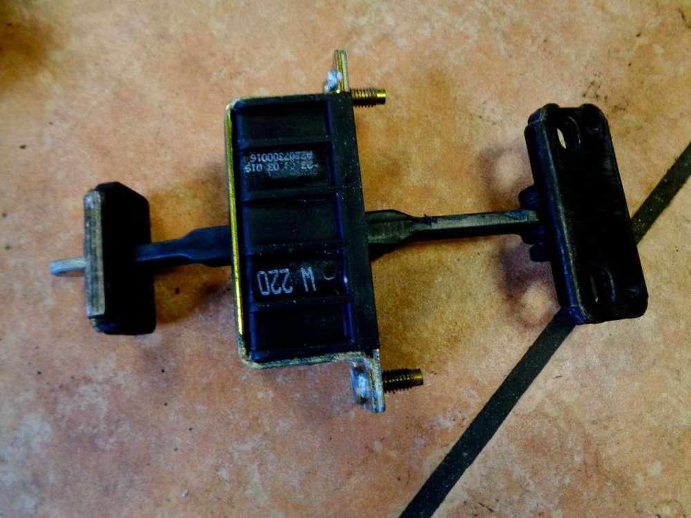 Mercedes S-Klasse W220 Bj:03 Türfangband Türbremse Hinten Links A2207300016