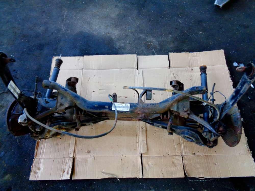 Ford Focus DAW, DBW Limousine Bj 2002 Hinterachse Achse M98AG5B564AAJ