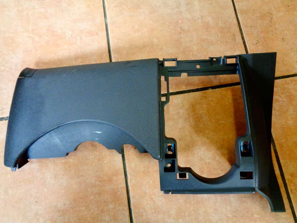 Opel Corsa D Verkleidung Abdeckung Fußraum 13204947