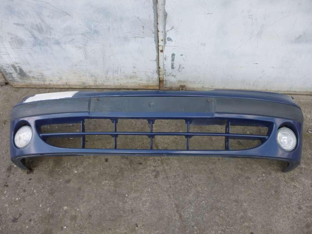 RENAULT MEGANE Bj 2001 Stoßstange Vorne 7700427560 Blau