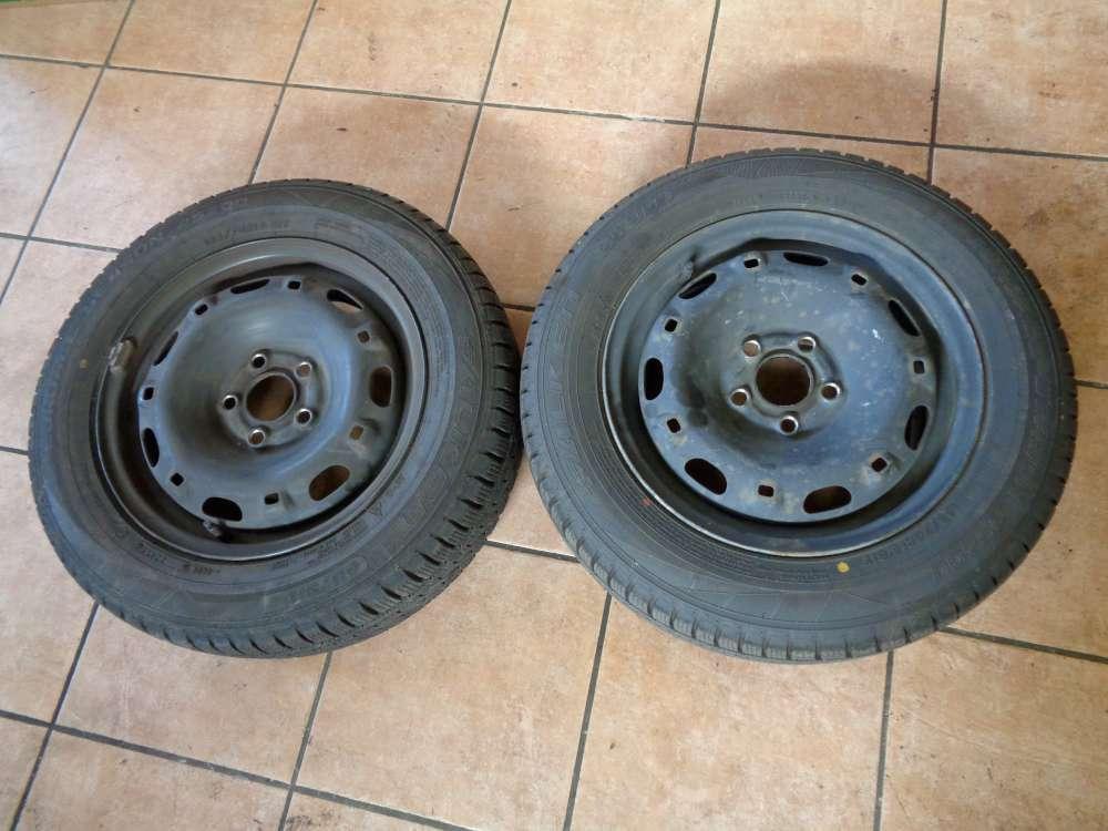 2x VW Polo 9N Felgen Reifen,Skoda Fabia 6Y 165/70R14 81T 6Q0601027H 5JX14H2 ET35 Winterrreifen