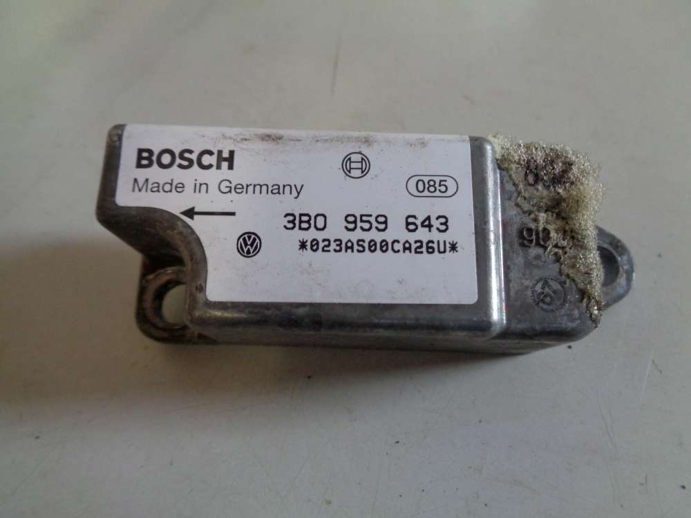 VW Passat 3B Bj:1997 Airbag Crash sensor Seitenaufprallsensor 3b0959643