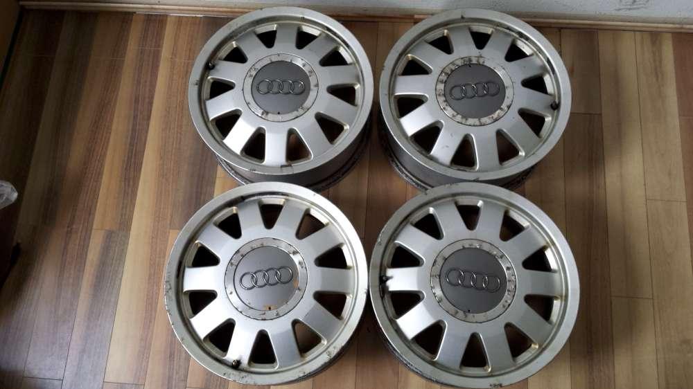 4 x Alufelgen für Audi A4   6Jx15H2  ET:45  5Loch