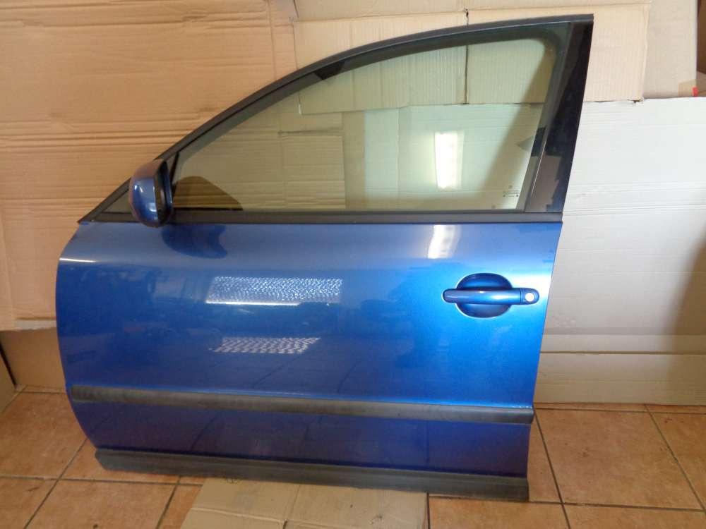 VW Passat 3B Kombi Bj:1997 Tür Vorne Links hallblau Farbcode : LR5U