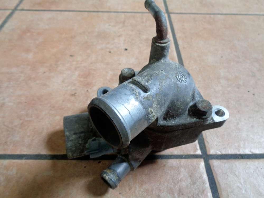 Opel Astra H 1.7 CDTI Bj:2008 Thermostatgehäuse Wasserstutzen