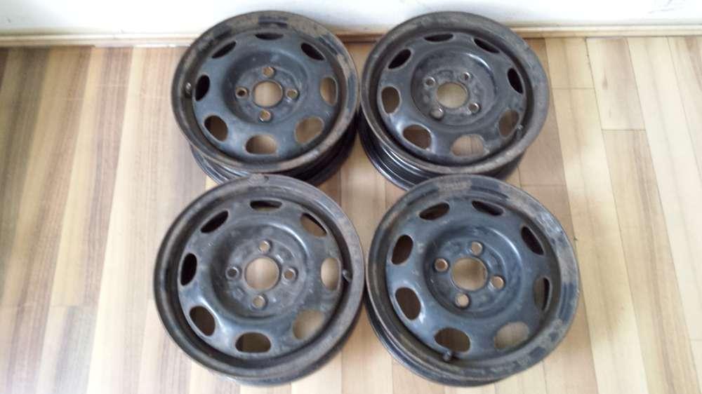 4 Stahlfelgen VW Polo ,VW Lupo ,Seat Arosa   4,5Jx13H2   ET:35  -  4 Loch