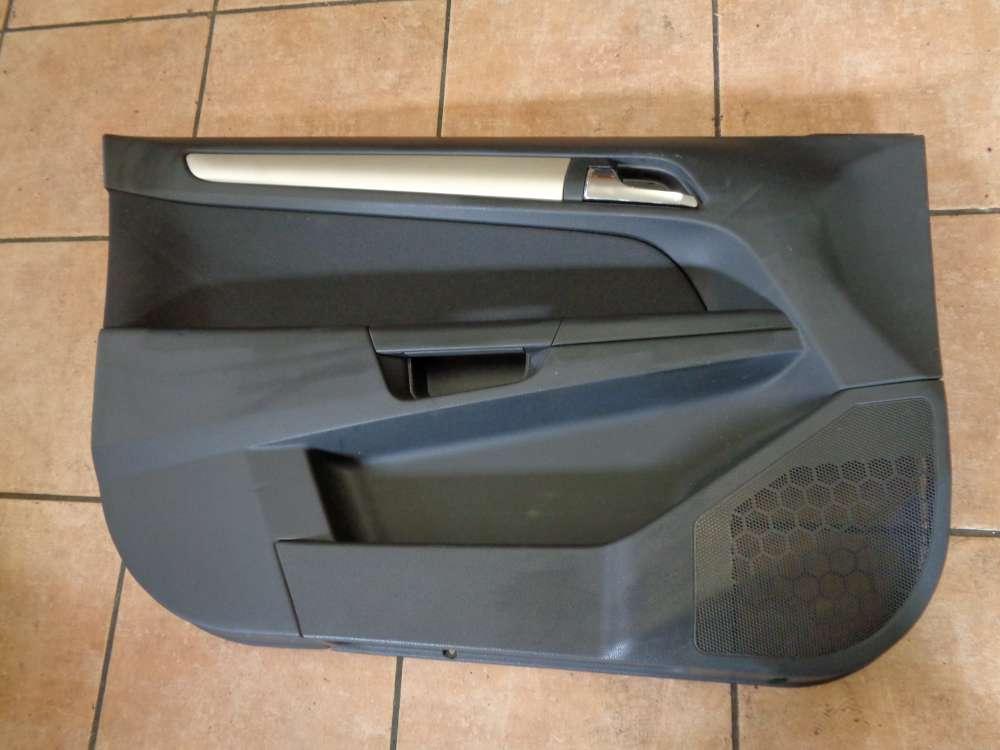 Opel Astra H Kombi Bj:2008 Türverkleidung Vorn Links 13284106
