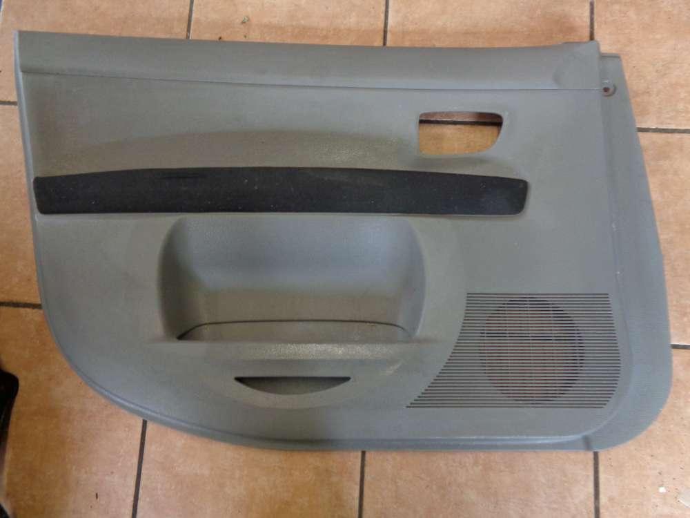 Mazda 2 DY Bj 2004 Türverkleidung Türpappe Vorn Links 3M71-A23943