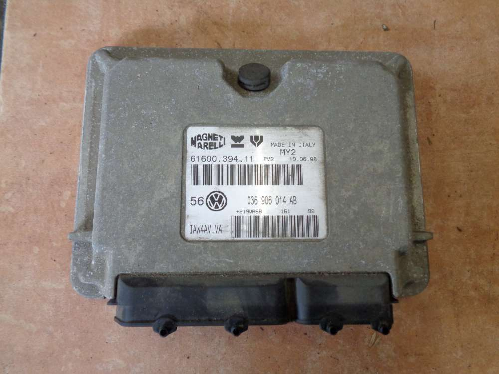VW Golf IV Steuergerät Motorsteuergerät 036906014AB 6160039411