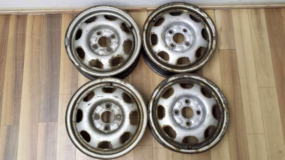 4 Stahlfelgen VW Polo ,VW Lupo ,Seat Arosa   4,5Jx13H2   ET35   4 Loch