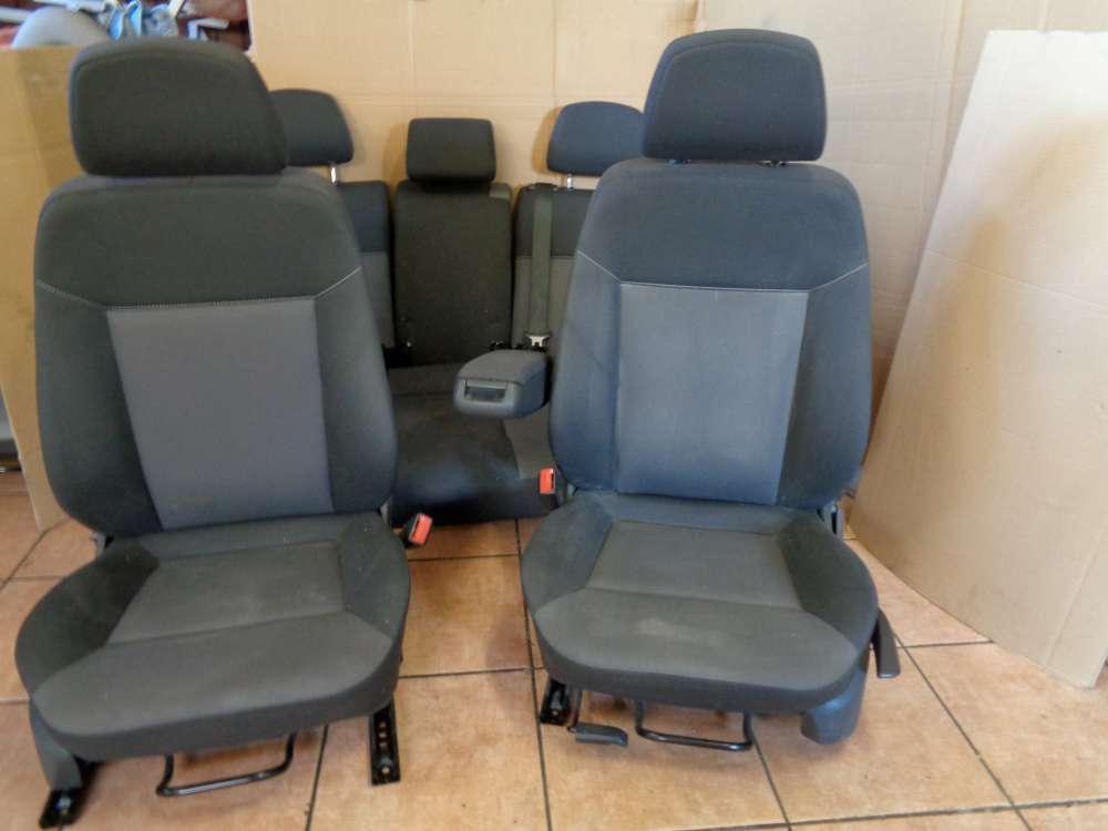 Opel Astra H Kombi Bj:08 Fahrersitz Beifahrersitz Rücksitzbank Sitze Stoff