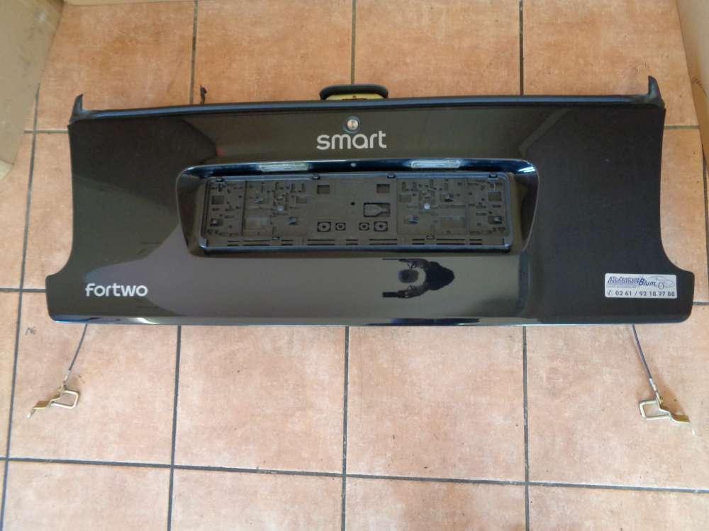 SMART Fortwo MC01 Bj:2006 Heckklappe Kofferraumtür schwarz