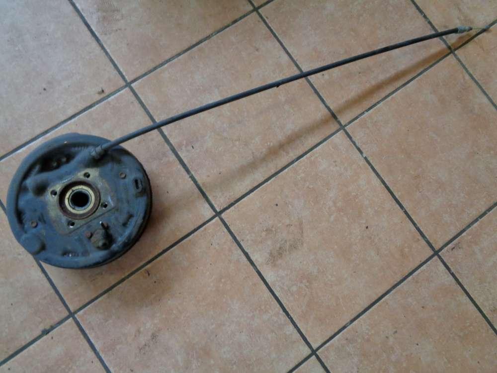SMART Fortwo MC01 Bj:06 trommelbremse mit Bremsseil Hinten Rechts 0012163V001