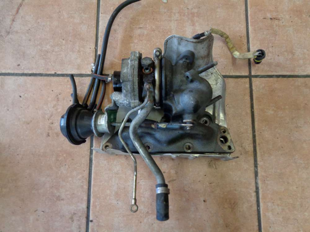SMART Fortwo MC01 Bj:06 Turbolader A1600960169 0007928V002