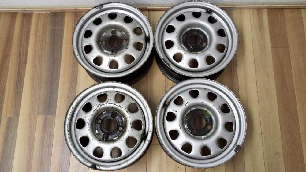 4 x Stahlfelgen VW Golf 3  6Jx14H2   ET 45   1H0601025P