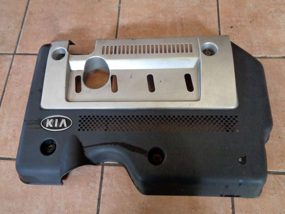 KIA Carens II 2,0 CRDi Bj:2003 Motordeckel Motorabdeckung Motorverkleidung