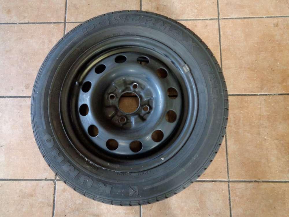 Stahlfelge mit Reifen für KIA Carens II KUMHO 205 / 60R15 91H  15X6JJ Sommerreifen
