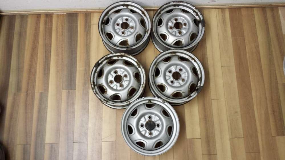 5 x Stahlfelgen für Ford Fiesta  J13x5.00B   072693   4Loch