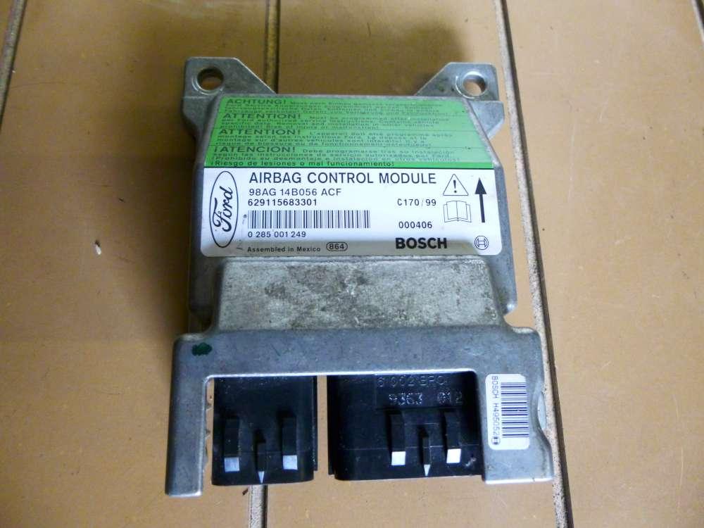 Ford Focus DNW Bj:2002 Steuergerät Airbag 98AG14B056ACE  0285001249