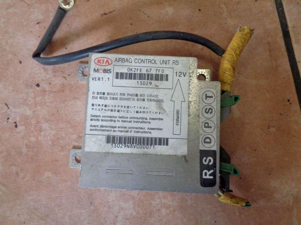 KIA Carens II Bj:2003 Steuergerät Airbag Airbagsteuergerät 0K2FE677F0