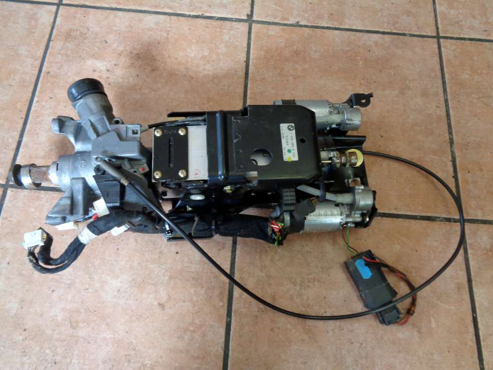 BMW 540i E39 Bj:2003 Lenksäule elektrische 10942659CRH 0390201667