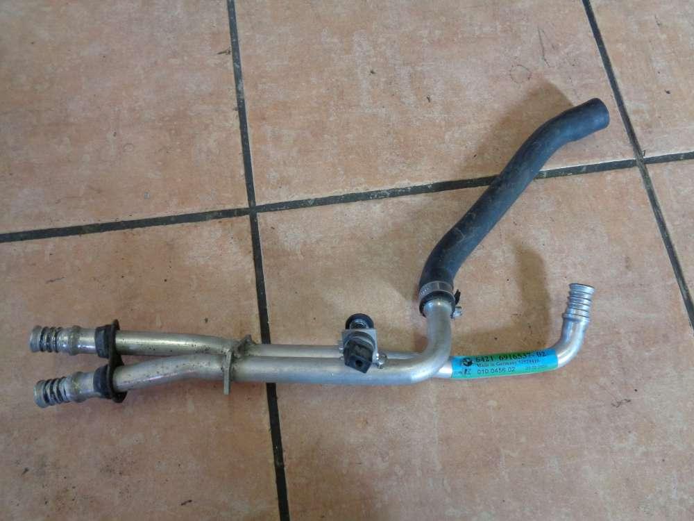 BMW 5er E39 Kühlwasserrohre Leitungen Standheizung 6916537