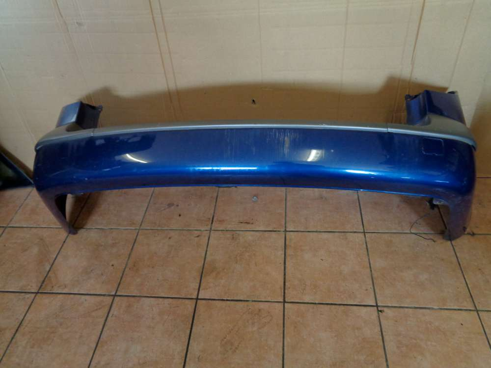 Renault Laguna II Kombi Bj:2003 Stossstange Hinten Blau Farbcode : TED44