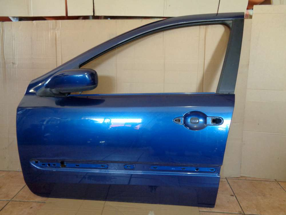 Renault Laguna II Kombi Bj:2003 Fahrertür Tür Vorne Links Blau Farbcode : TED44
