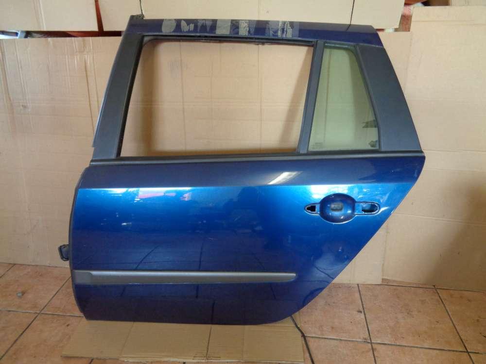 Renault Laguna II Kombi Bj:2003 Tür Hinten Links Blau Farbcode : TED44