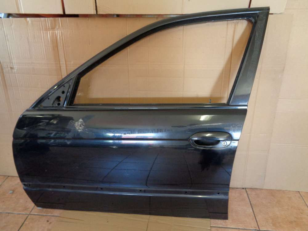 BMW 5er E39 Kombi Bj:2003 Tür Vorne Links Schwarz 2 668