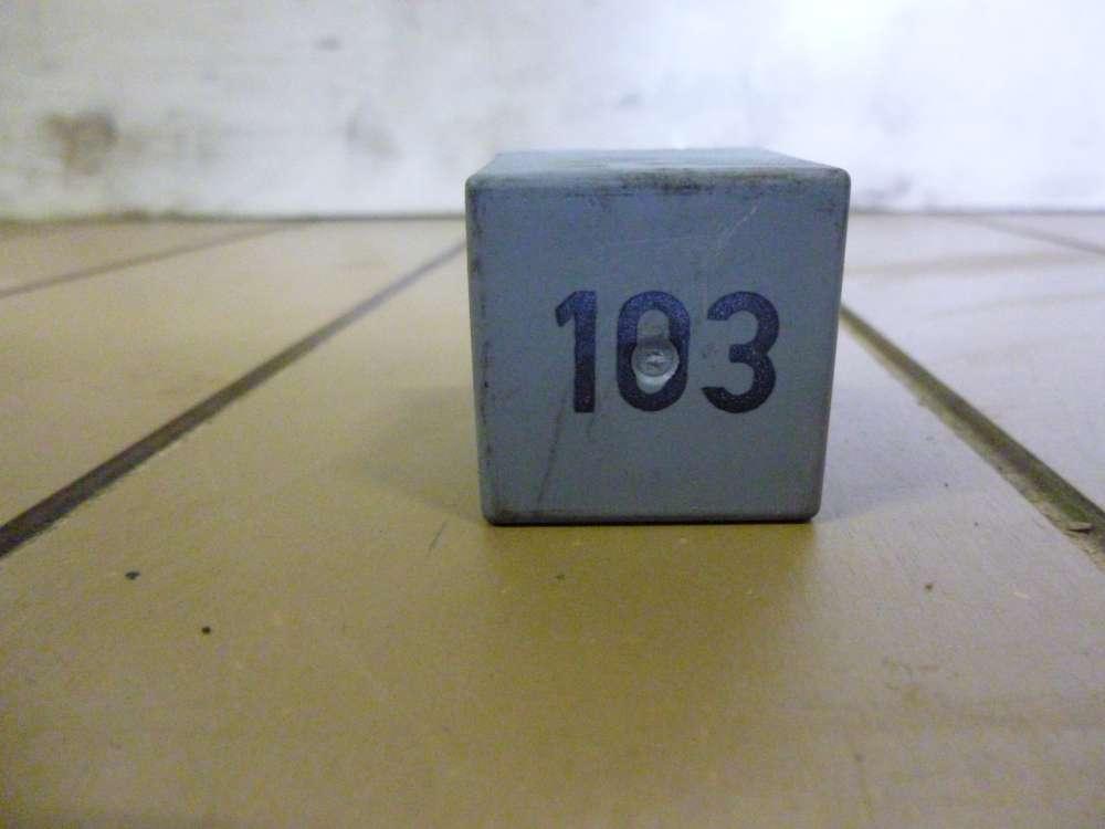 Skoda Octavia Bj 2002 Relais 103 Steuergerät für Glühkerze 357911253