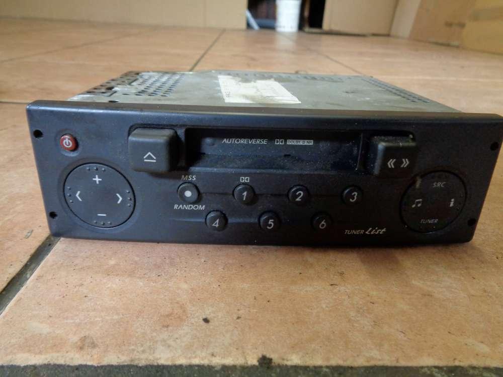 Renault Laguna II Bj:2003 Cassetten Radio Autoradio 8200002606