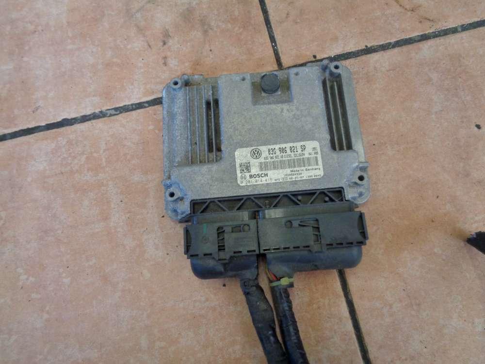 Seat Altea XL 5P Bj:2008 Motorsteuergerät BMM 03G906021SP