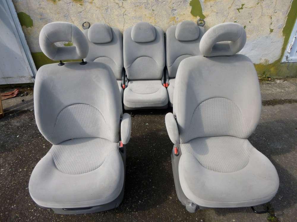 Citroen xsara picasso Bj 2001 Sitze Stoff Komplet