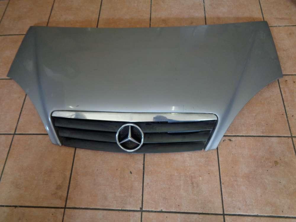 Mercedes A-Klasse W168 Motorhaube mit Grill und Emblem silber Farbcode : 706