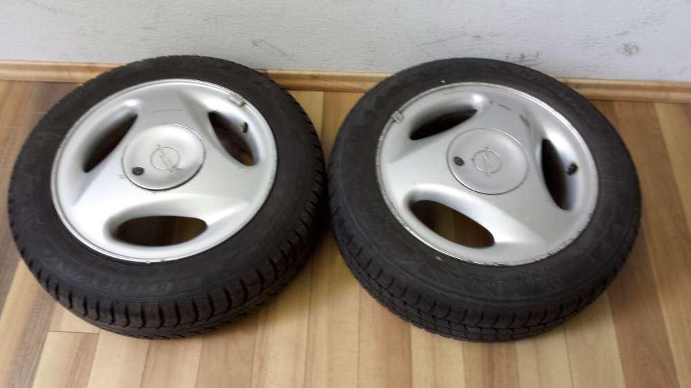 2 x Alufelgen Original für Opel Corsa B   5,5Jx14  LK 4x100   ET:49  165/65 R14 79T
