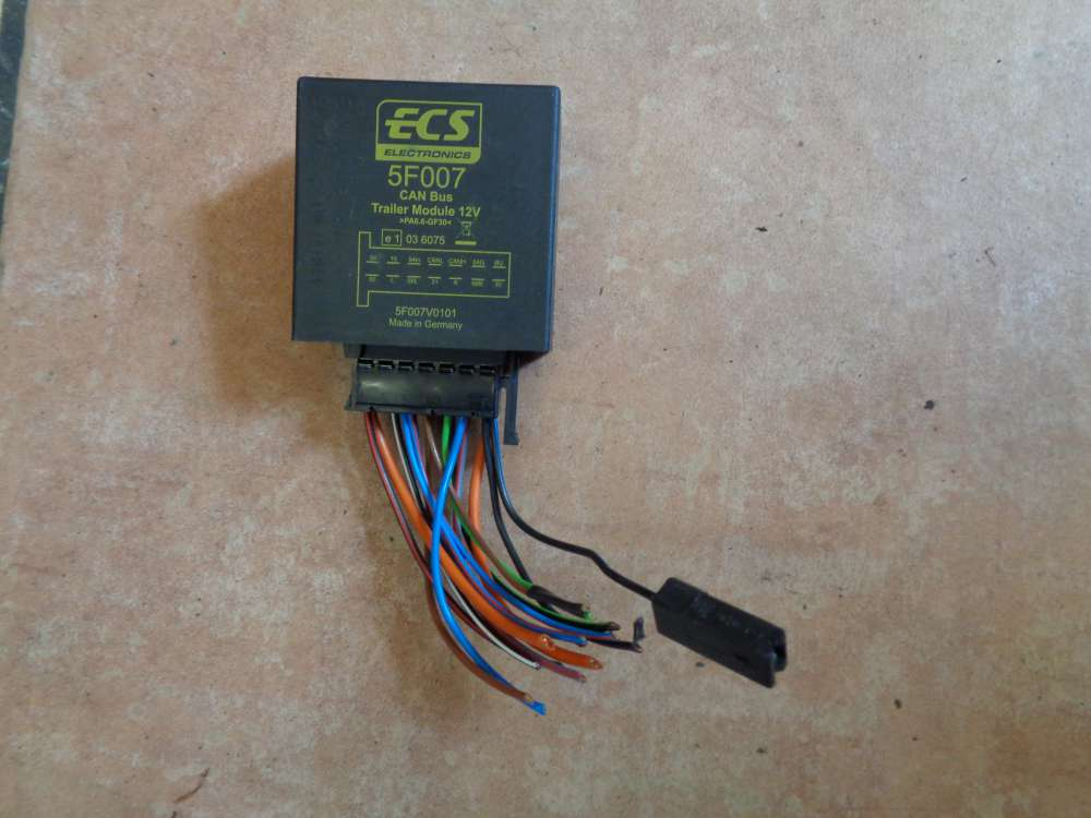 Can Bus Trailer Module ECS Electronics Steuergerät 5F007