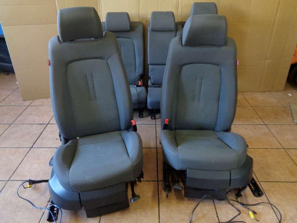 Seat Altea 5P Bj:2007 Sitze Innenausstattung Komplett grau Stoff