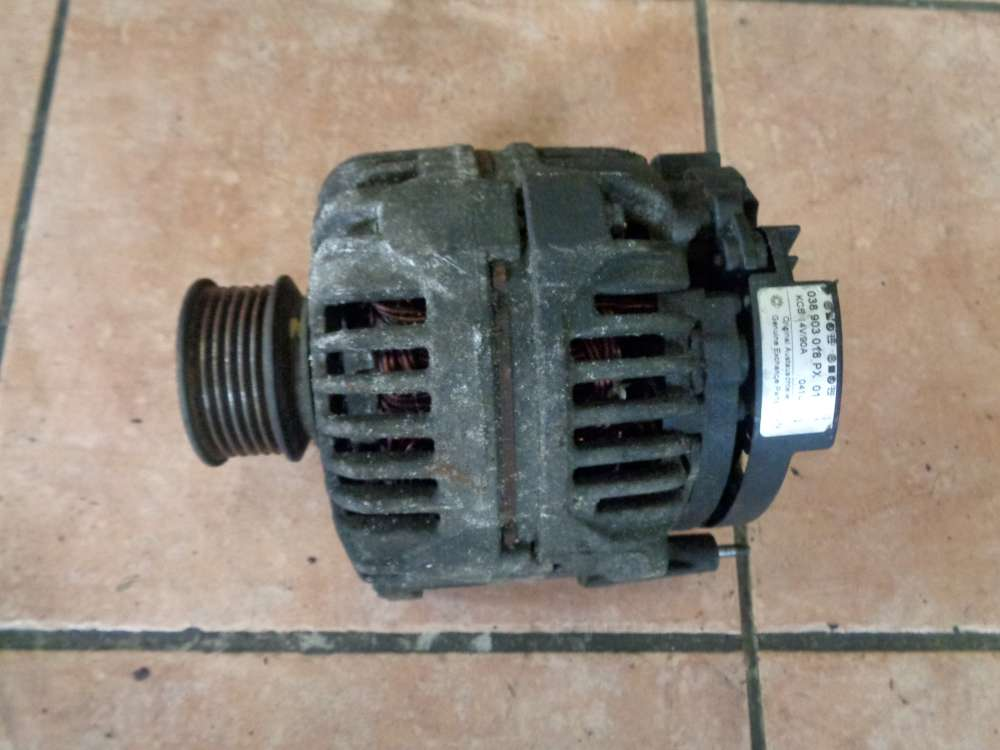 VW Golf 4 Lichtmaschine Generator 90A Bosch 028903028PX 01