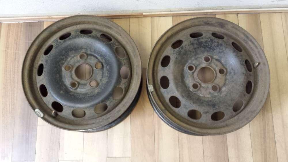 2 x Stahlfelgen für VW Sharan , Seat Alhambra , Ford Galaxy  6Jx15H2   ET: 55