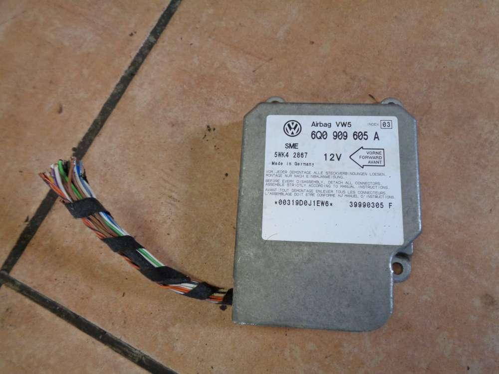 VW Golf 4 Bj:1998 Airbagsteuergerät Steuergerät Airbag 6Q0909605A