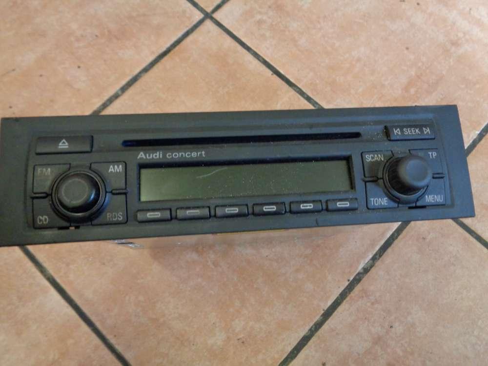 Audi A3 8P Bj:2003 Radio Autoradio Concert CD  8P0035186 J