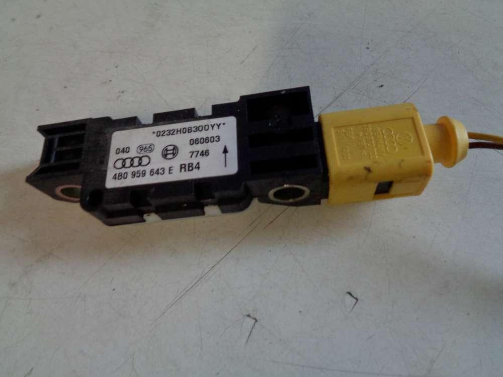 Audi A3 8P Bj:2003 Sensor Airbag Crashsensor 4B0959643E