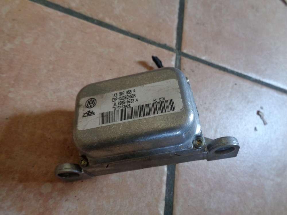 Audi A3 8P Bj:2003 ESP Sensor Duosensor Drehratensensor 1K0907655A